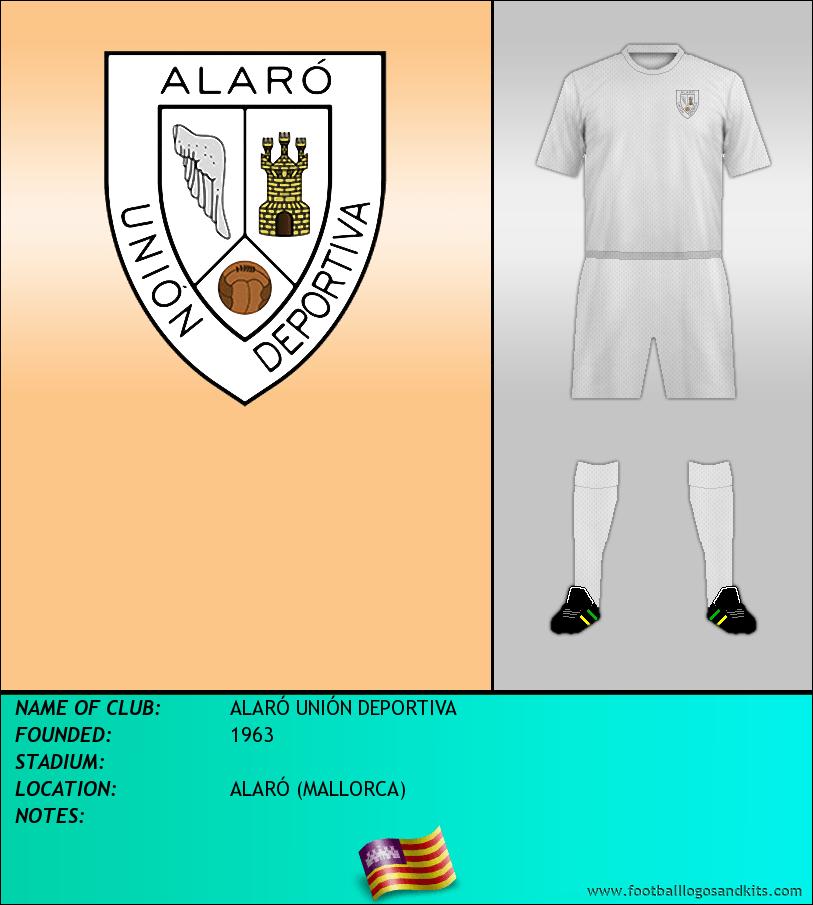 Logo of ALARÓ UNIÓN DEPORTIVA