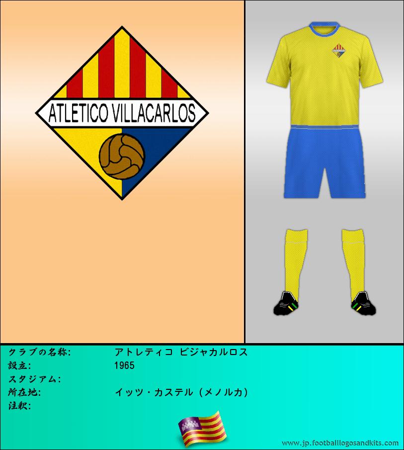 のロゴアトレティコ ビジャカルロス
