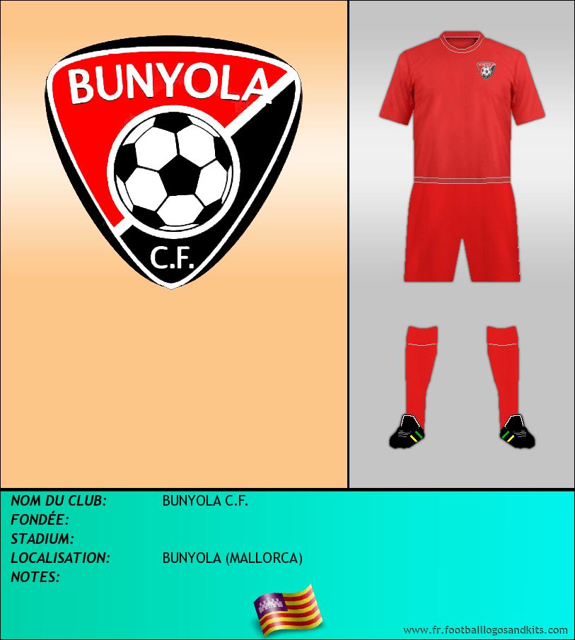 Logo de BUNYOLA C.F.