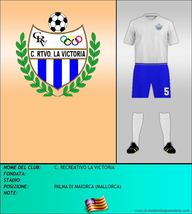 Logo di C. RECREATIVO LA VICTORIA