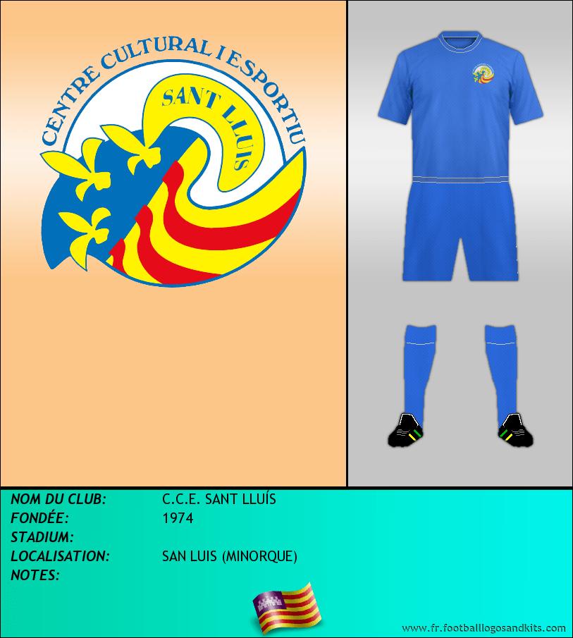 Logo de C.C.E. SANT LLUÍS