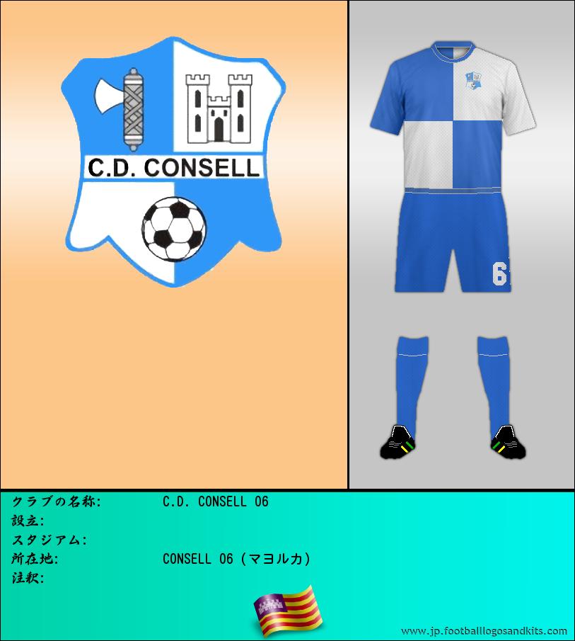 のロゴC.D. CONSELL 06