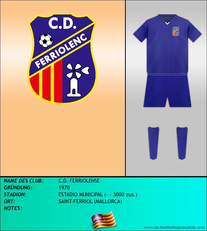 Logo C.D. FERRIOLENSE