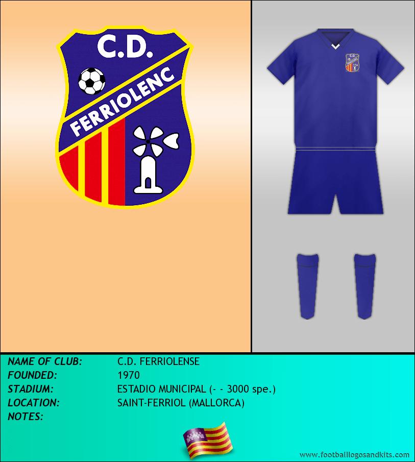 Logo of C.D. FERRIOLENSE