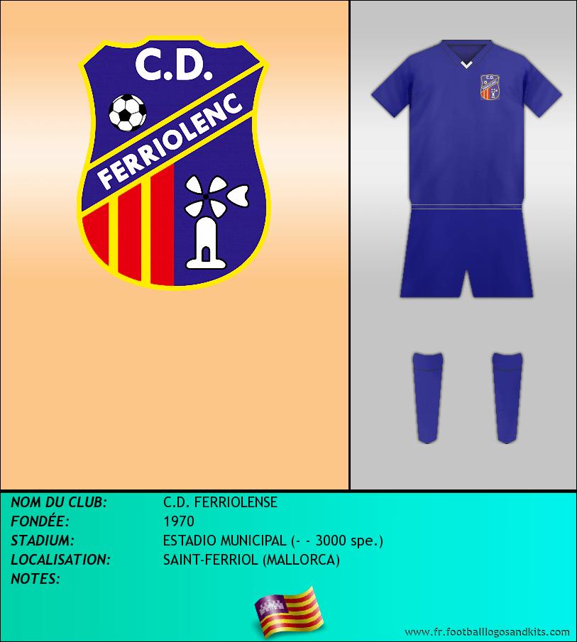 Logo de C.D. FERRIOLENSE