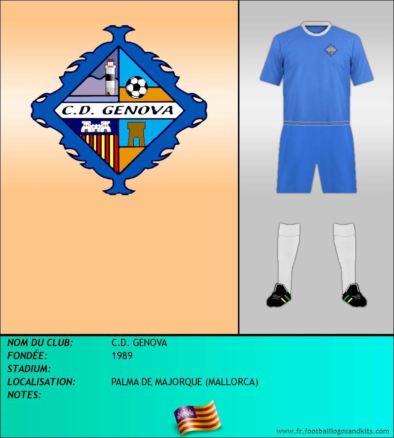 Logo de C.D. GENOVA