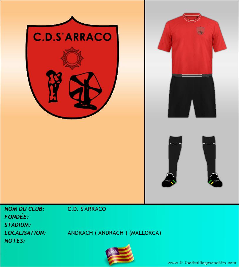 Logo de C.D. S'ARRACO