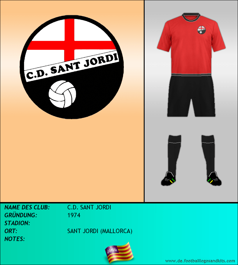 Logo C.D. SANT JORDI
