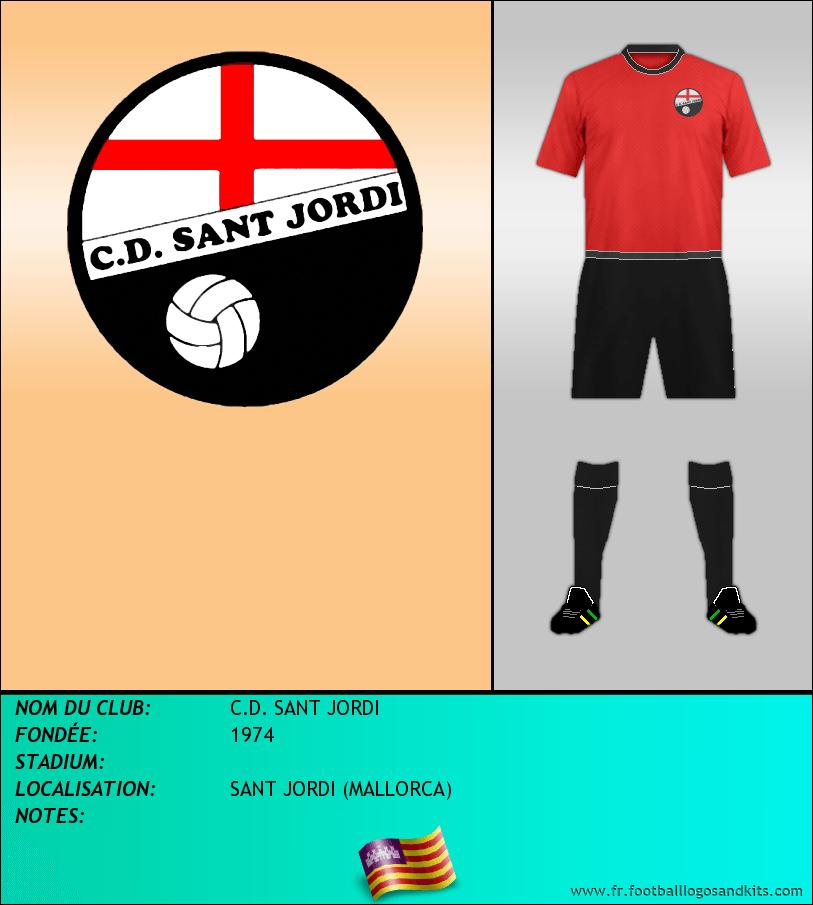 Logo de C.D. SANT JORDI