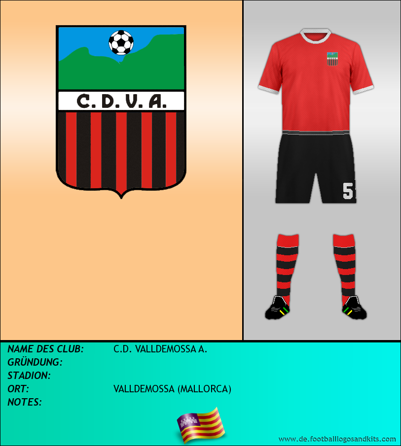 Logo C.D. VALLDEMOSSA A.