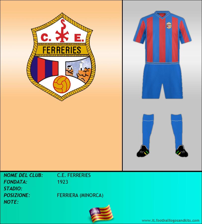 Logo di C.E. FERRERIES