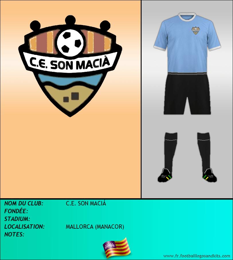 Logo de C.E. SON MACIÁ