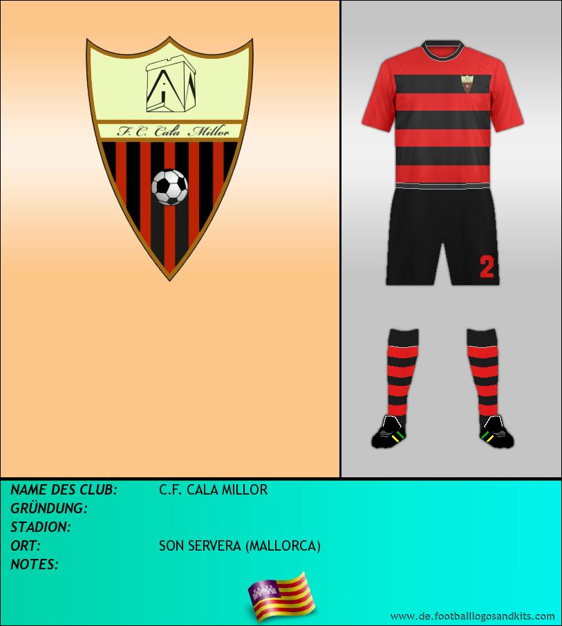 Logo C.F. CALA MILLOR