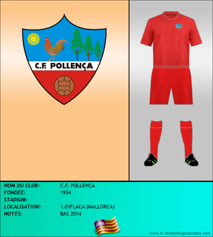 Logo de C.F. POLLENÇA