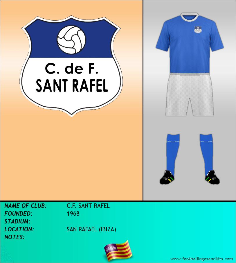 Logo of C.F. SANT RAFEL