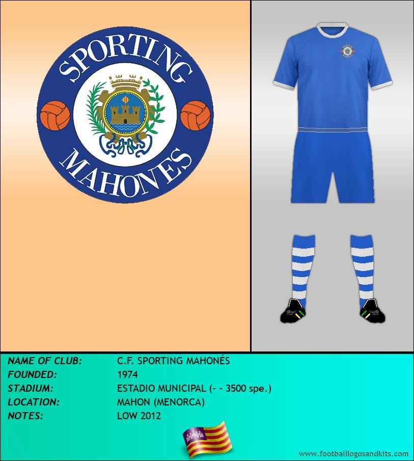 Logo of C.F. SPORTING MAHONÉS
