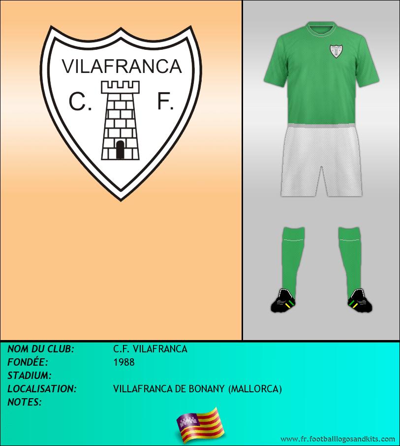 Logo de C.F. VILAFRANCA