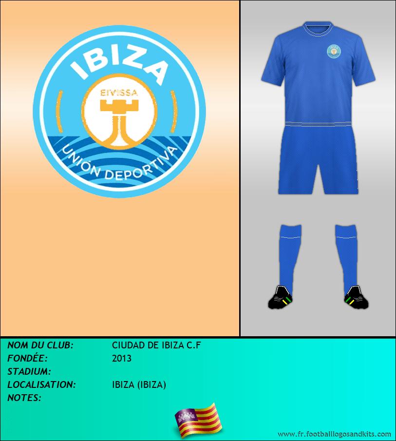 Logo de CIUDAD DE IBIZA C.F