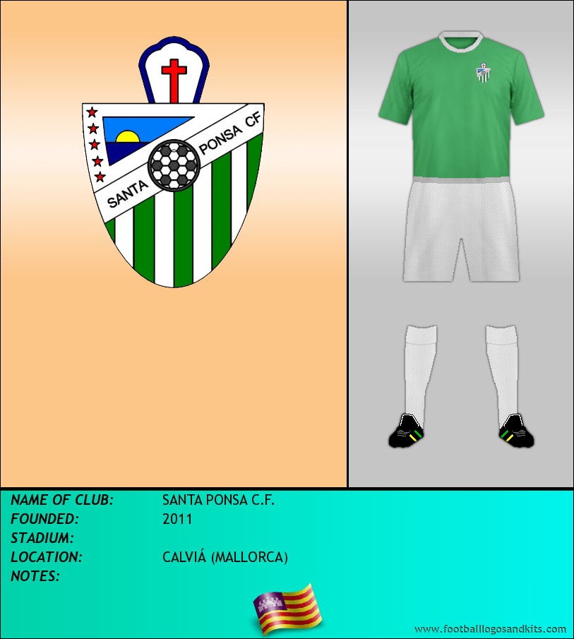 Logo of SANTA PONSA C.F.