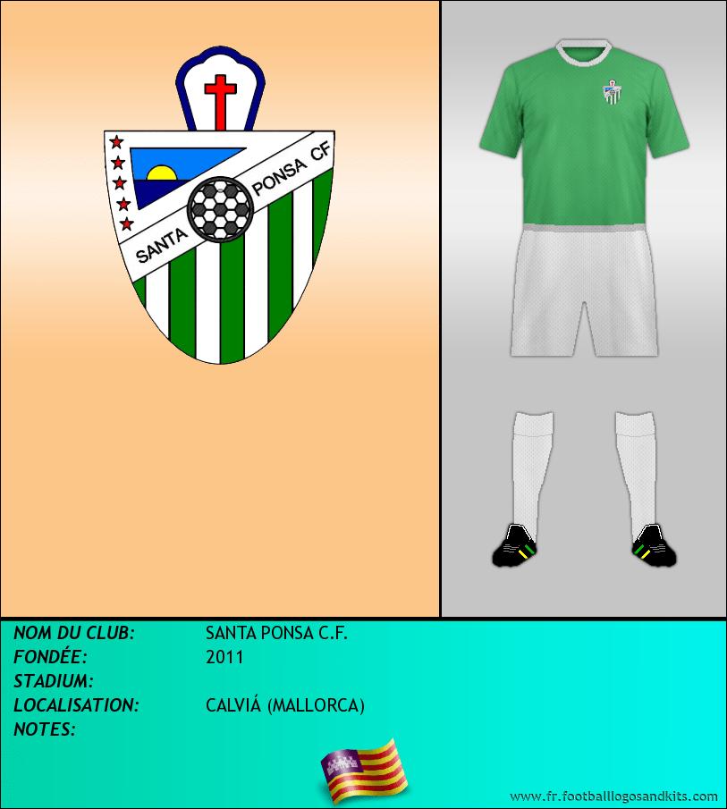 Logo de SANTA PONSA C.F.