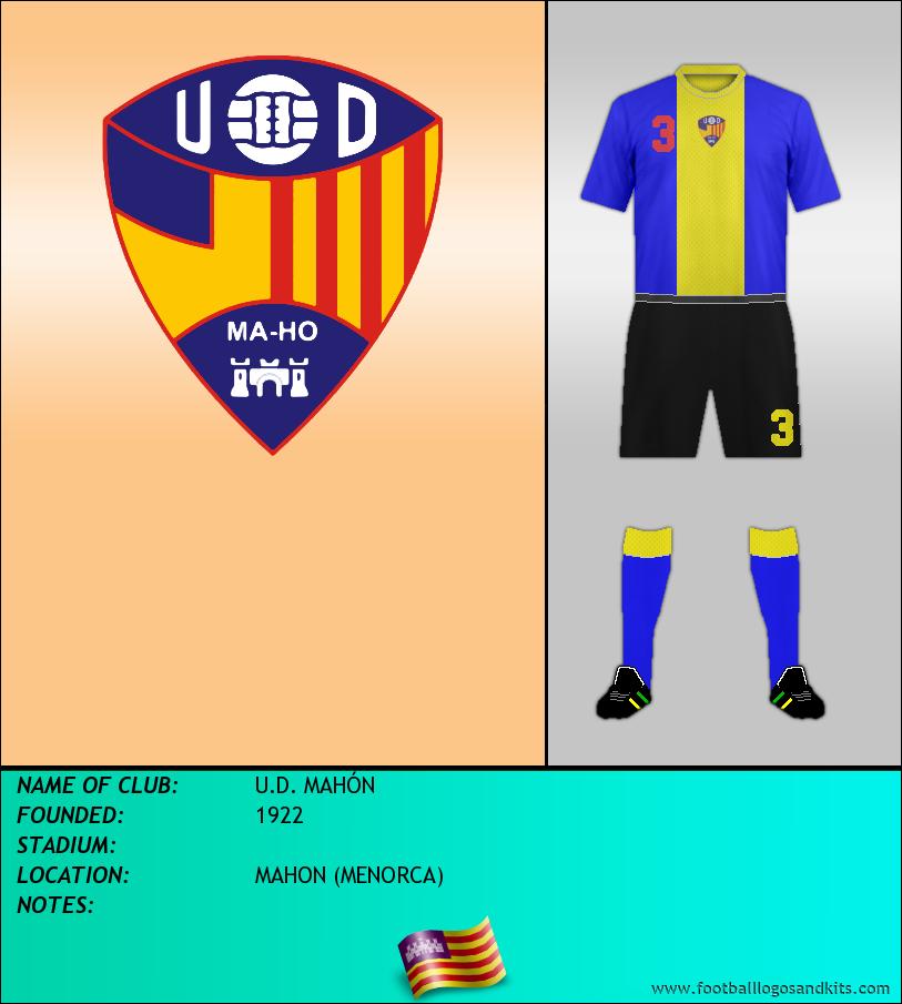 Logo of U.D. MAHÓN