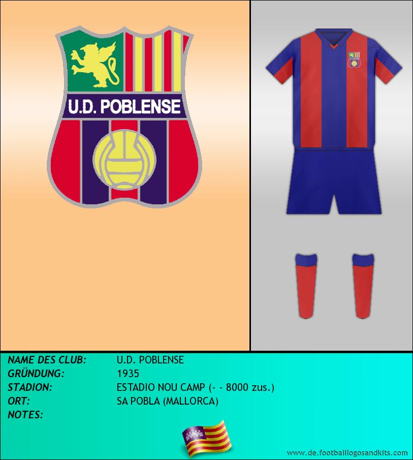 Logo U.D. POBLENSE