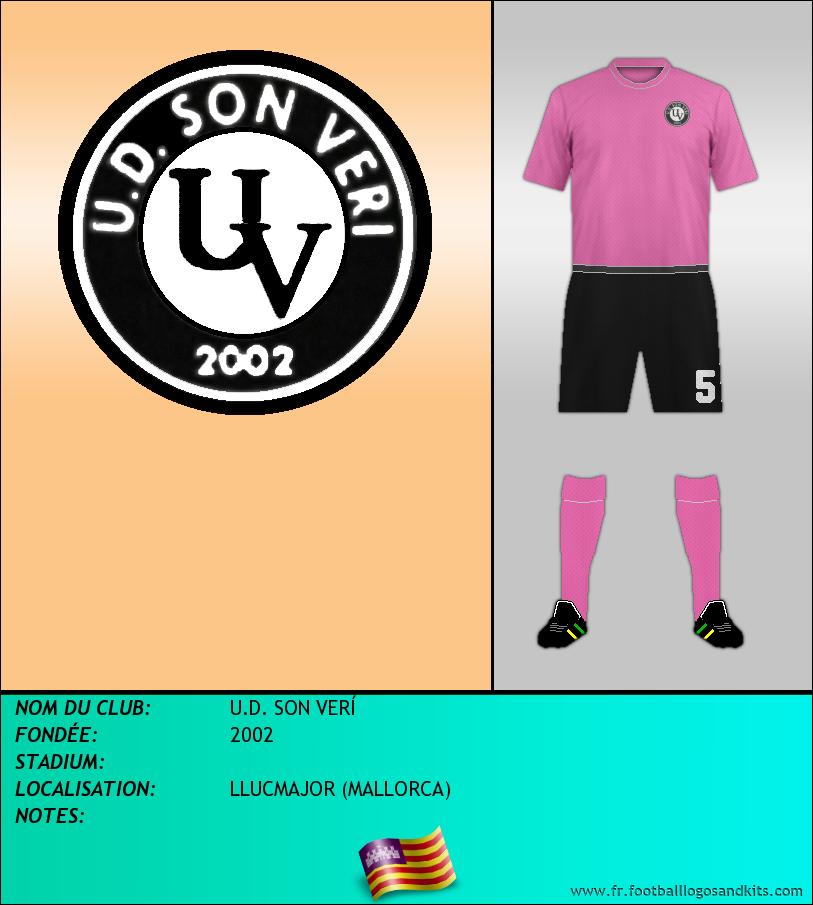 Logo de U.D. SON VERÍ