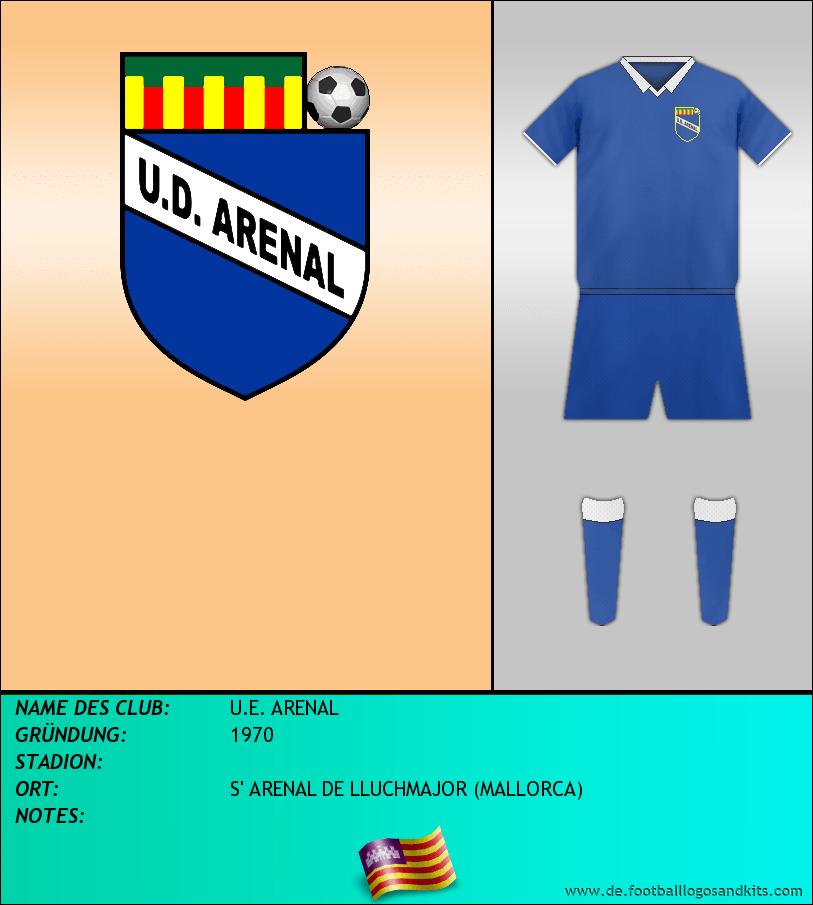Logo U.E. ARENAL