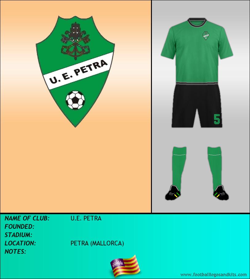 Logo of U.E. PETRA