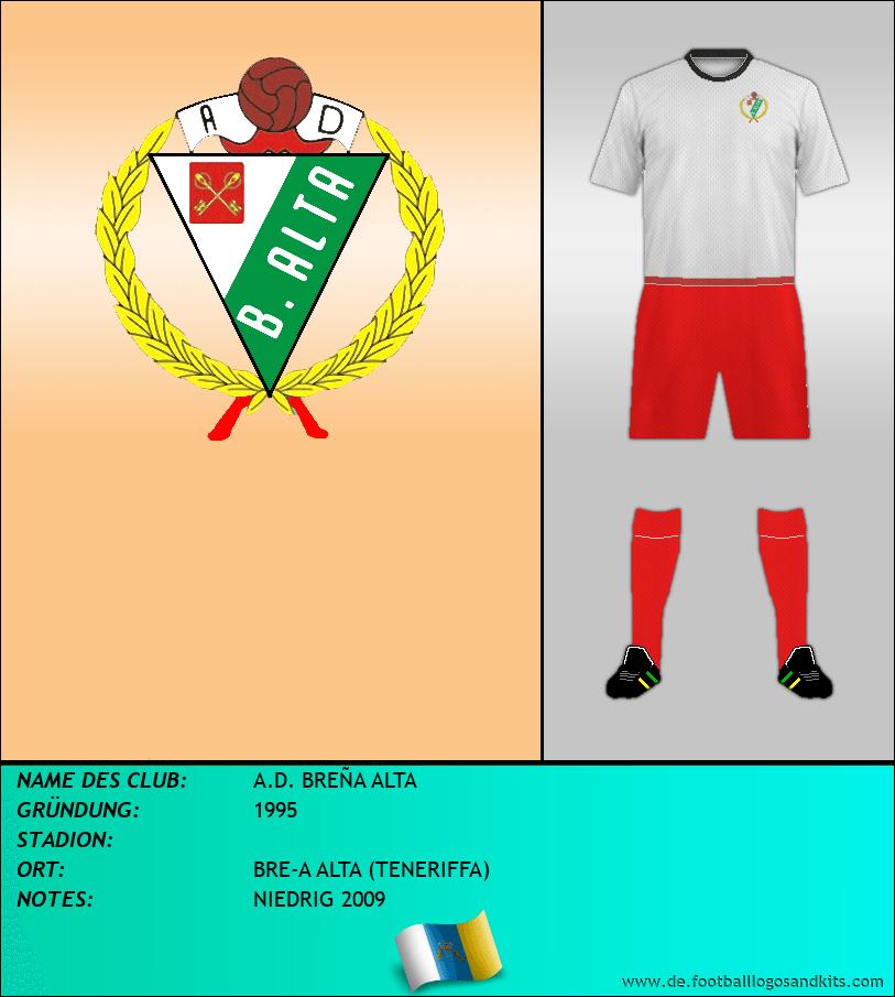 Logo A.D. BREÑA ALTA
