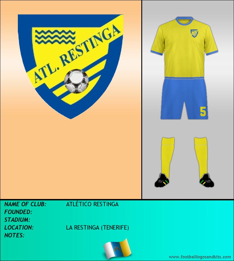 Logo of ATLÉTICO RESTINGA