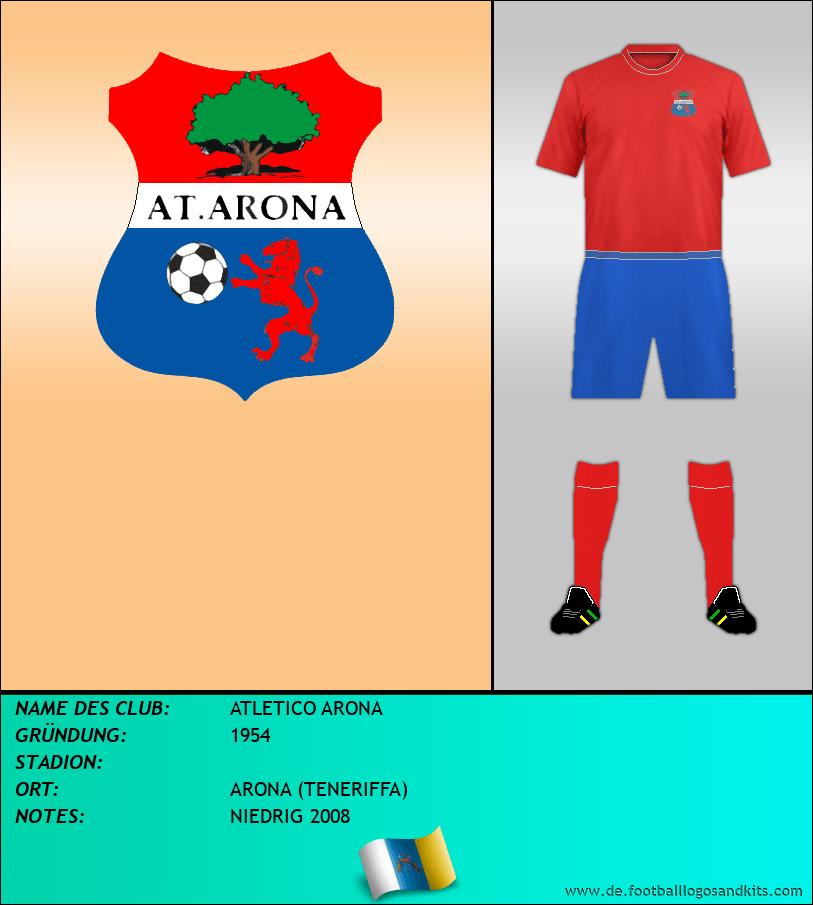Logo ATLETICO ARONA