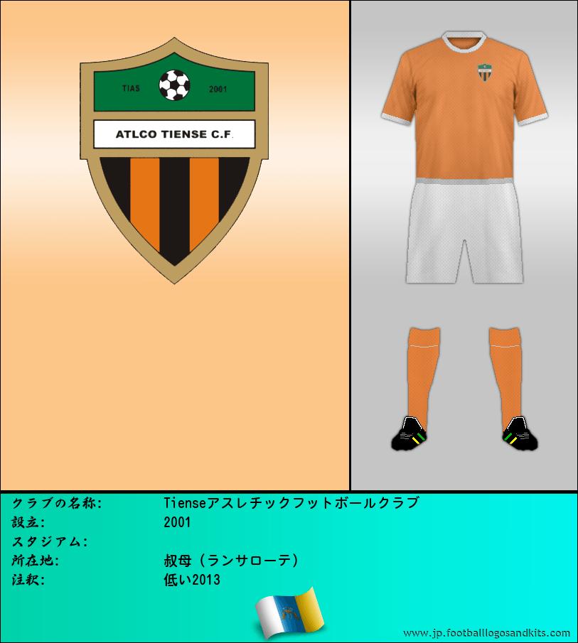 のロゴTienseアスレチックフットボールクラブ