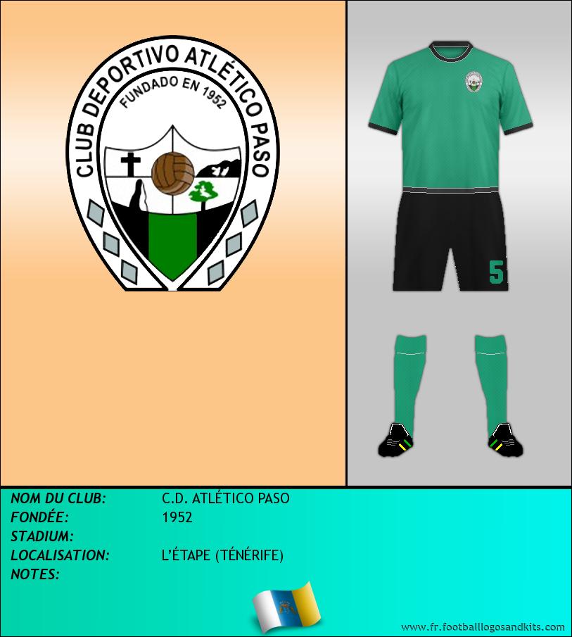 Logo de C.D. ATLÉTICO PASO