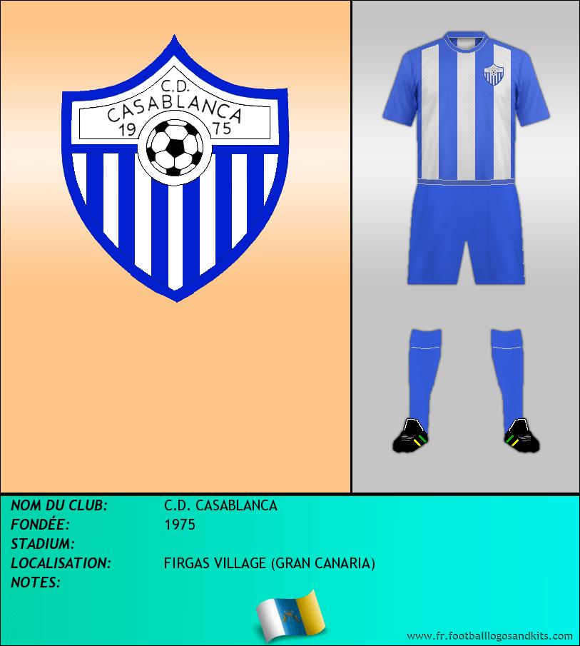 Logo de C.D. CASABLANCA