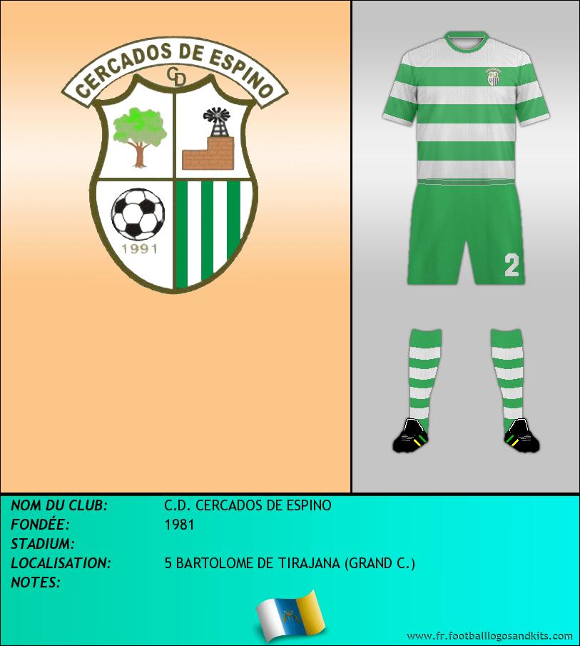 Logo de C.D. CERCADOS DE ESPINO