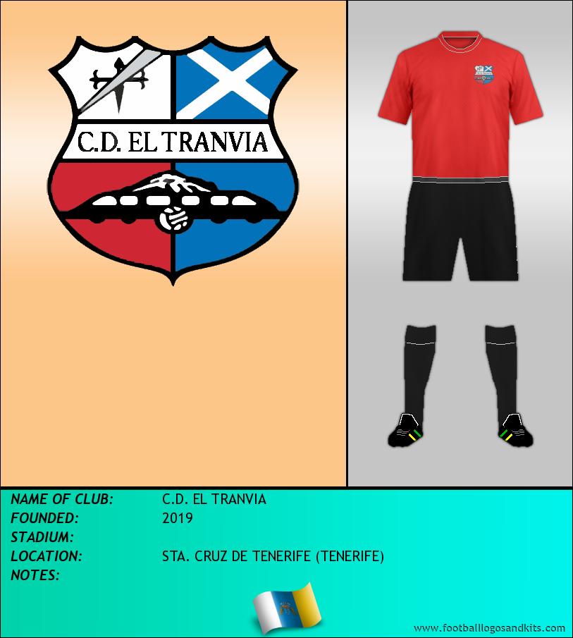 Logo of C.D. EL TRANVIA