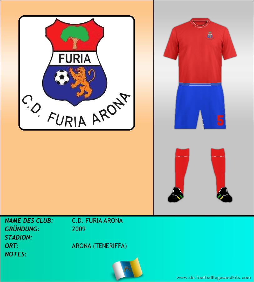 Logo C.D. FURIA ARONA