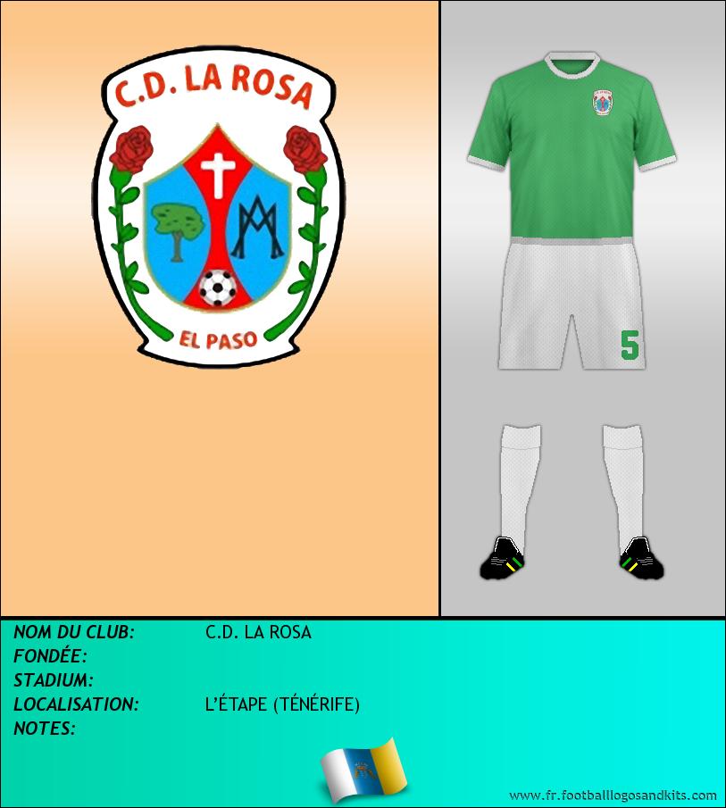 Logo de C.D. LA ROSA