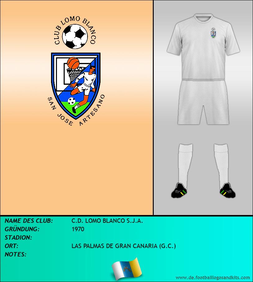 Logo C.D. LOMO BLANCO S.J.A.