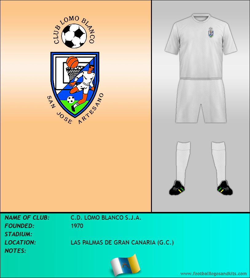 Logo of C.D. LOMO BLANCO S.J.A.