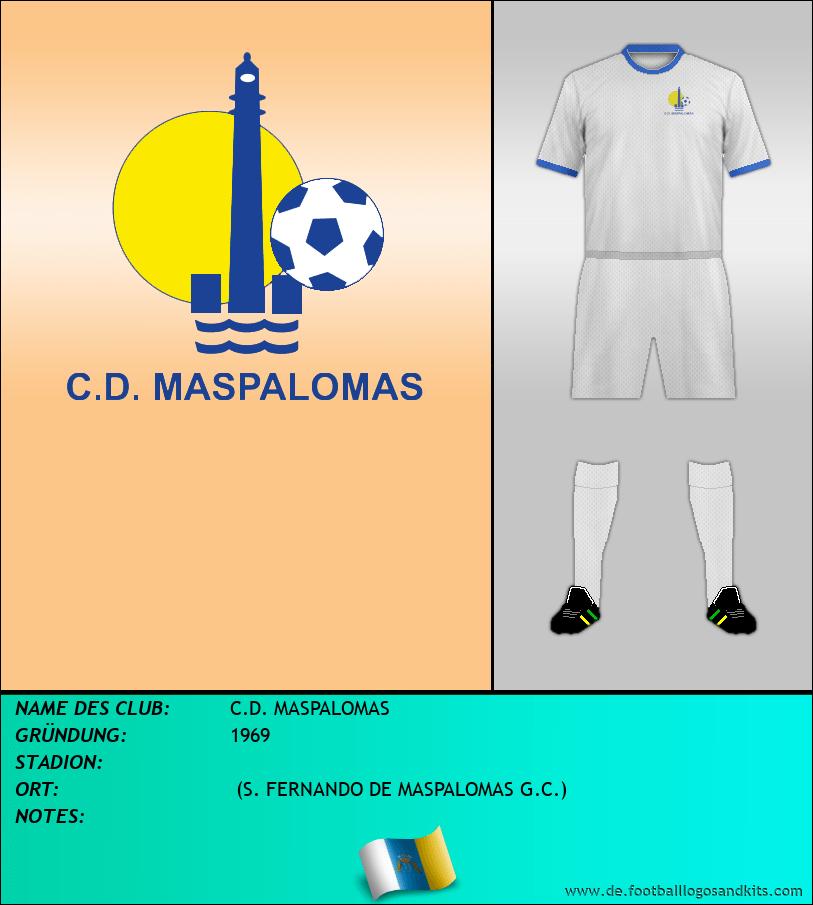 Logo C.D. MASPALOMAS