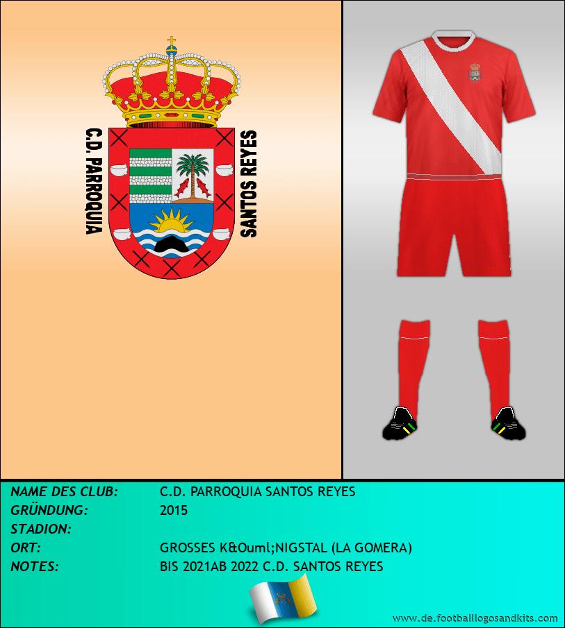 Logo C.D. PARROQUIA SANTOS REYES