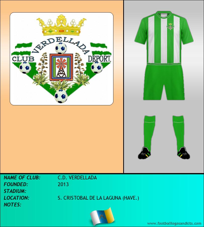 Logo of C.D. VERDELLADA