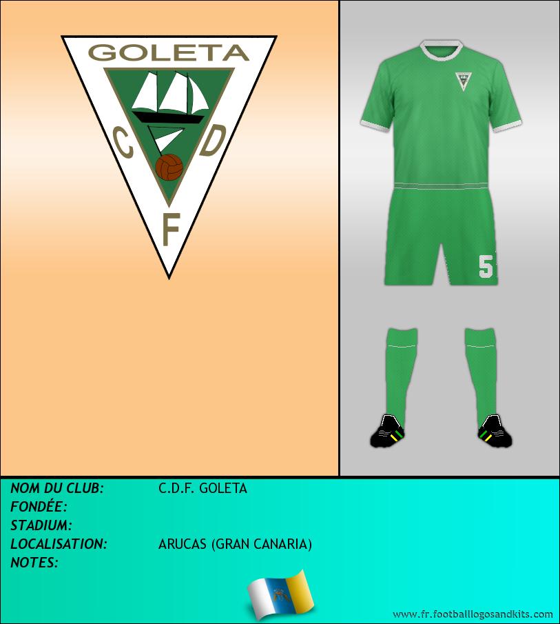 Logo de C.D.F. GOLETA