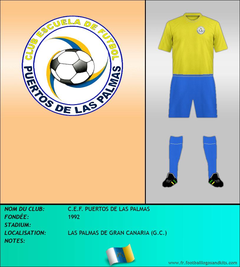Logo de C.E.F. PUERTOS DE LAS PALMAS