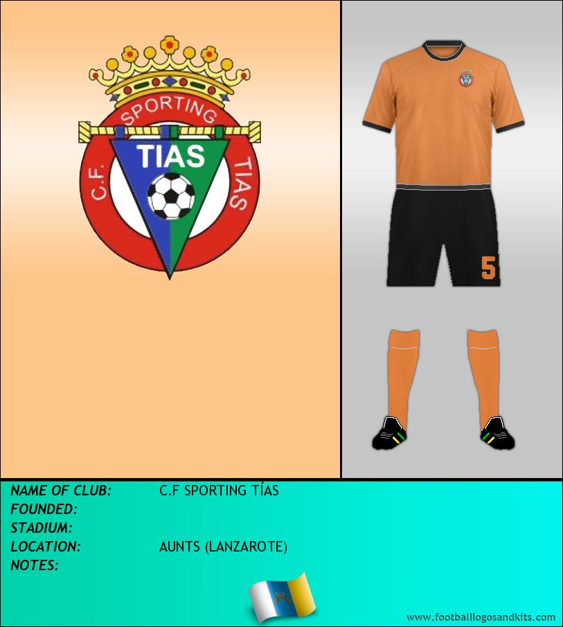 Logo of C.F SPORTING TÍAS