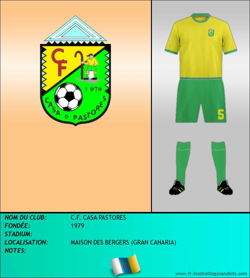 Logo de C.F. CASA PASTORES