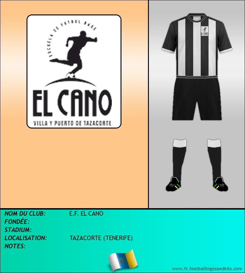 Logo de E.F. EL CANO