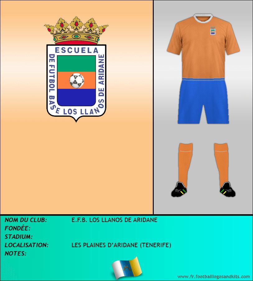 Logo de E.F.B. LOS LLANOS DE ARIDANE